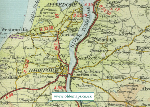 Bideford Map