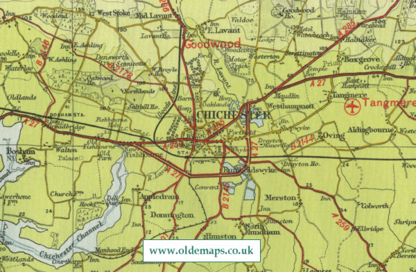 Chichester Map