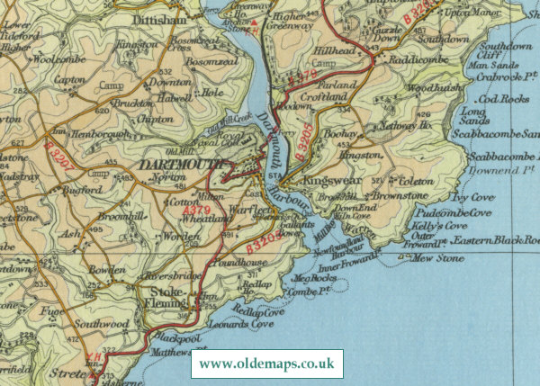 Dartmouth Map