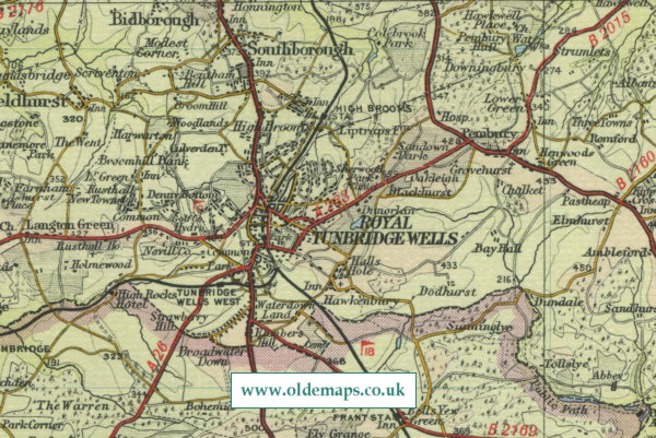 Tonbridge Wells Map