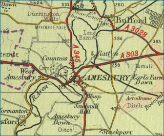 Amesbury Map