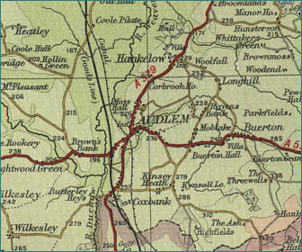 Audlem Map
