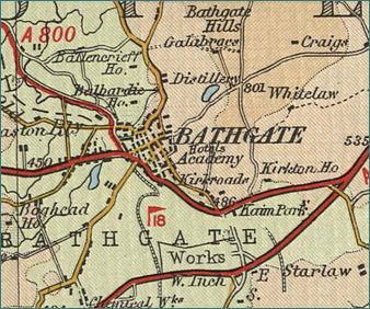 Bathgate Map
