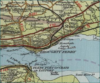 Broughty Ferry Map