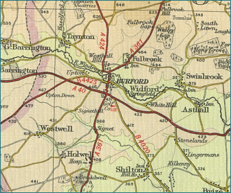 Burford Map