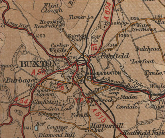 Buxton Map