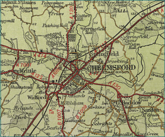 Chelmsford Map