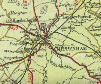 Chippenham Map