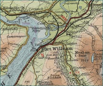 Fort William Map