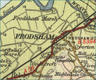 Frodsham Map