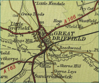Great Driffield Map