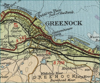 Greenock Map