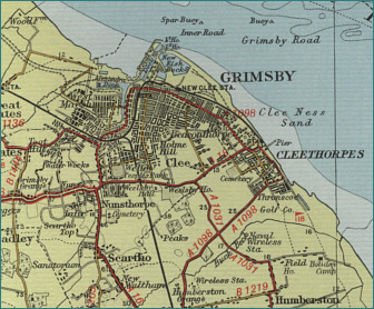 Grimsby Map