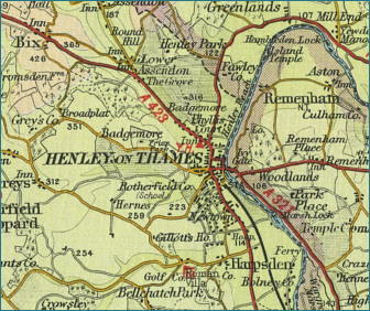 Henley-on-Thames Map