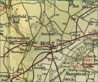 Holt Map