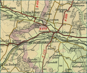 Hungerford Map