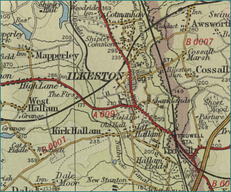 Ilkeston Map