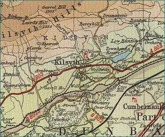 Kilsyth Map