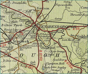 Knaresborough Map