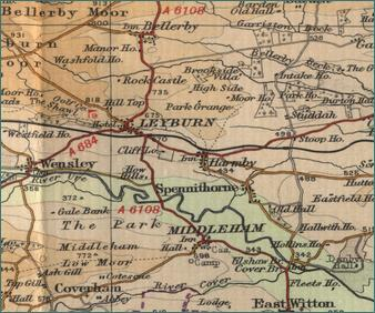 Leyburn Map
