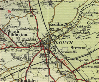 Louth Map
