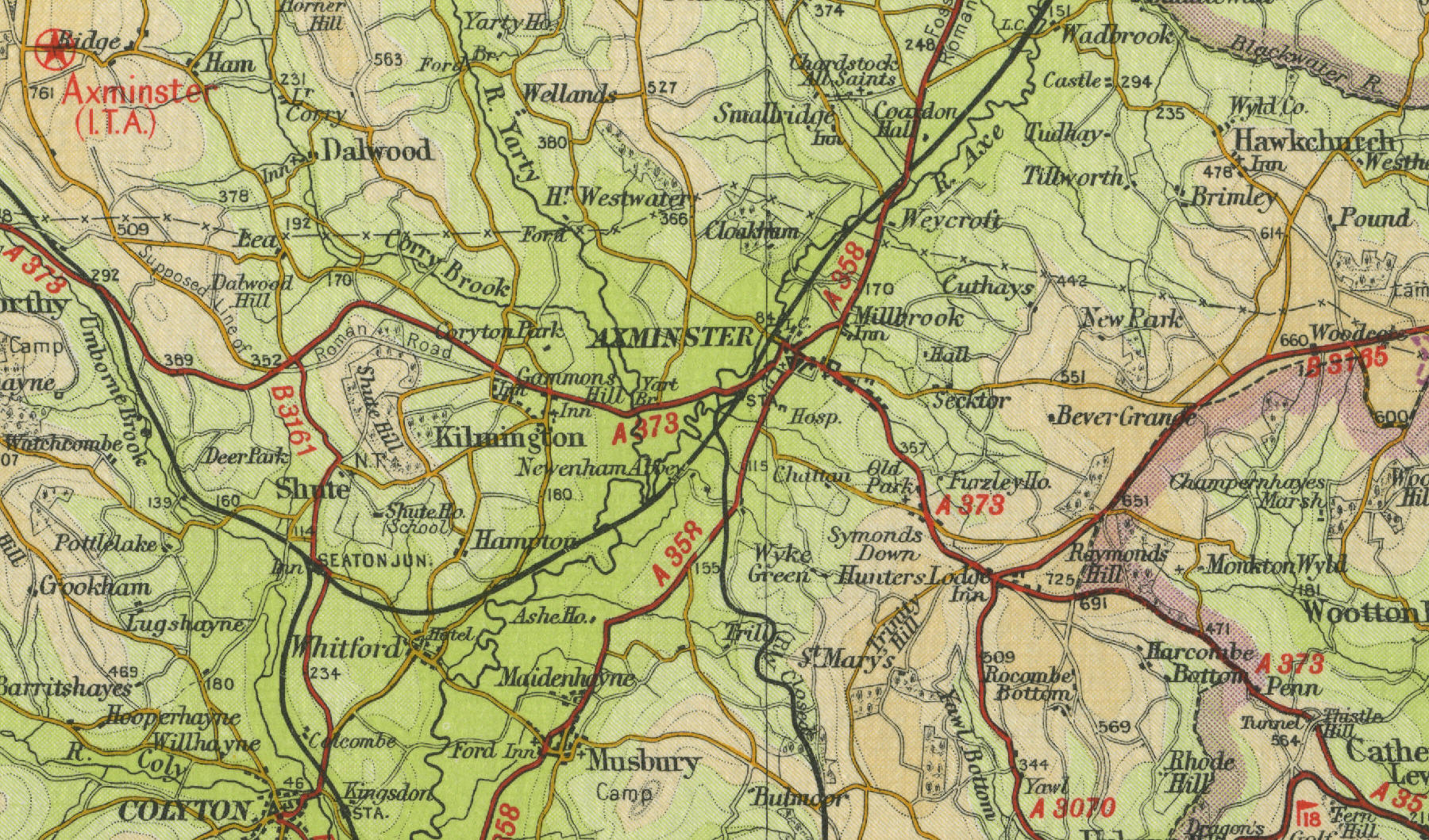 Old maps of Essex