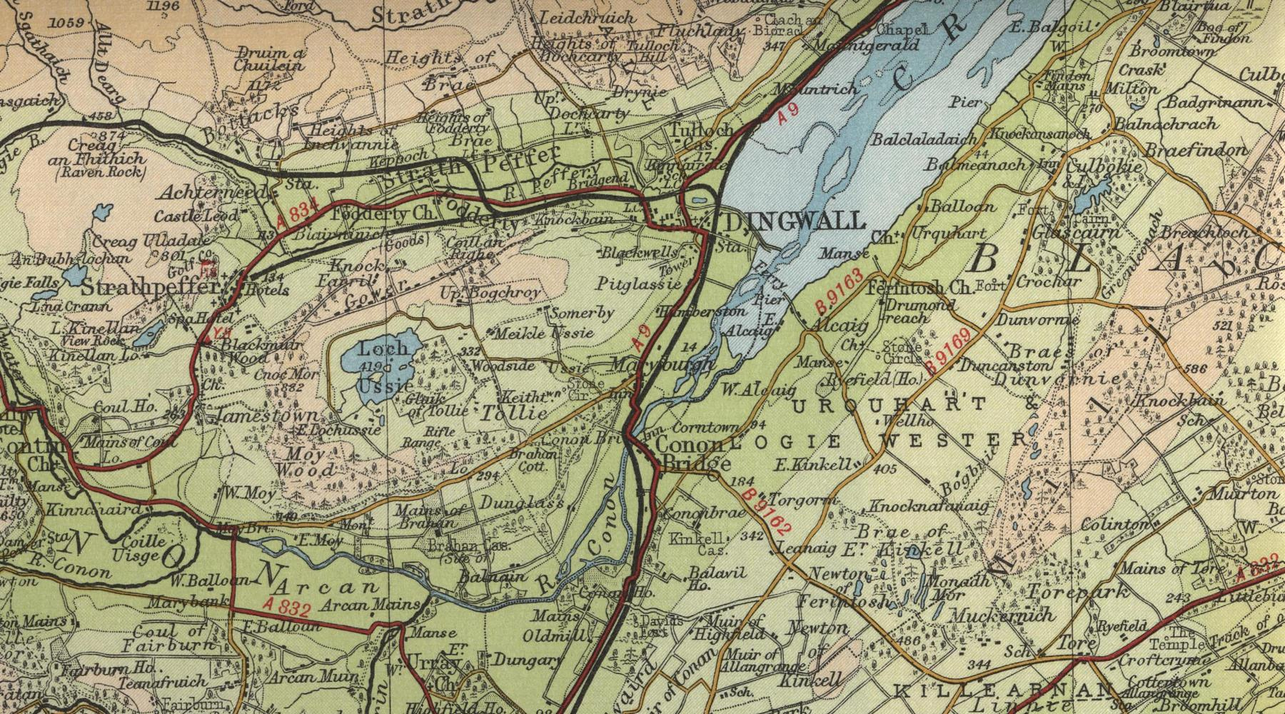 Dingwall Map