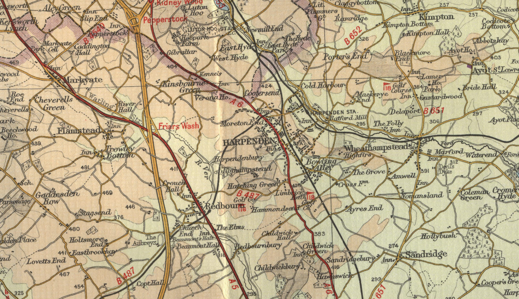 Maps Of Harpenden Related Keywords Suggestions Maps Of