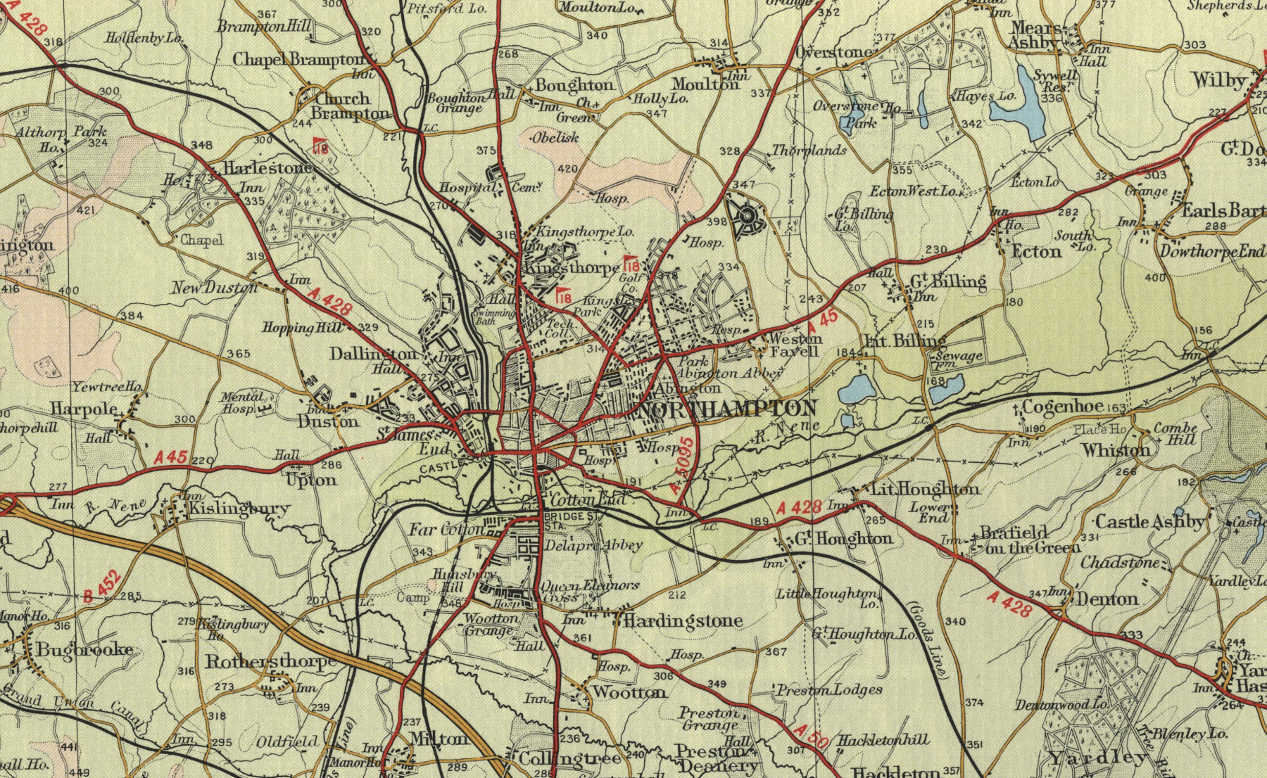 Northampton Map
