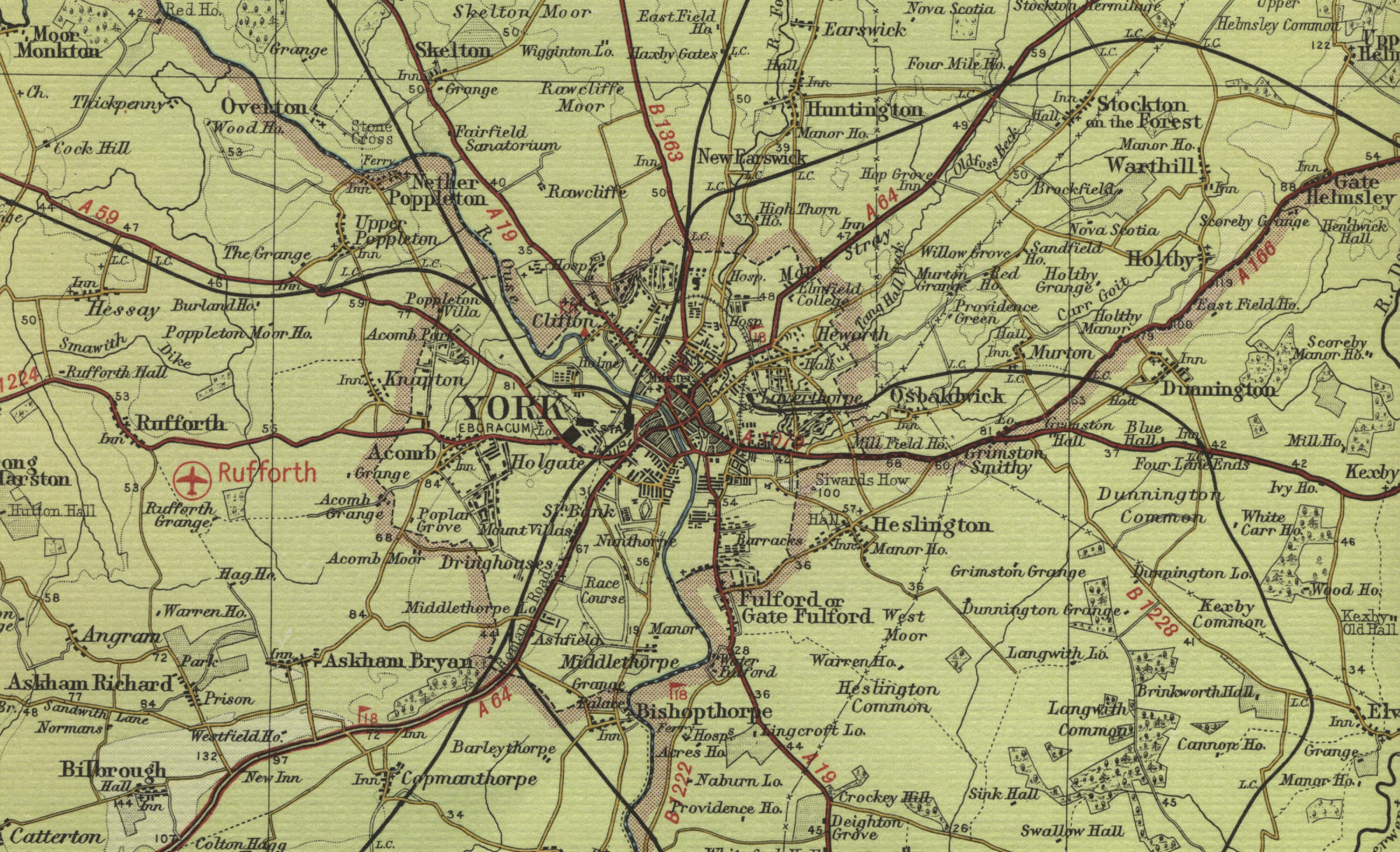 City Map Of England.Old Town Maps