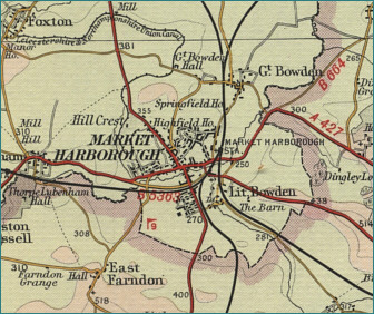 Market Harborough Map
