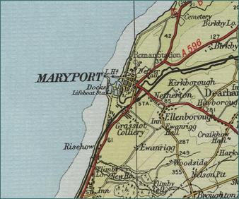 Maryport Map