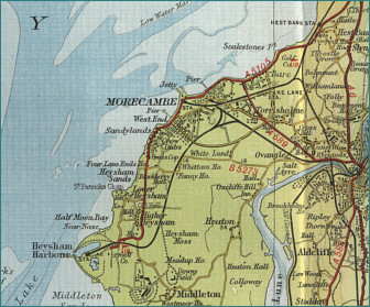Morecambe Map
