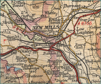 New Mills Map
