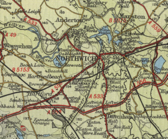 Northwich Map
