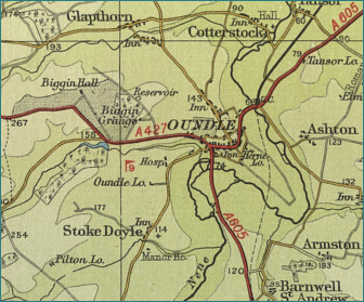 Oundle Map