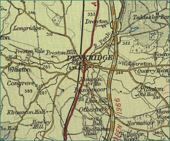 Penkridge Map