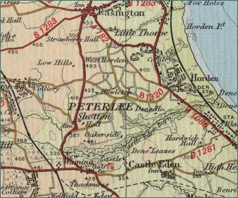 Peterlee Map