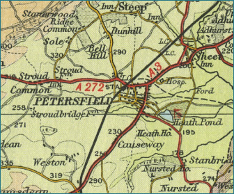 Petersfield Map