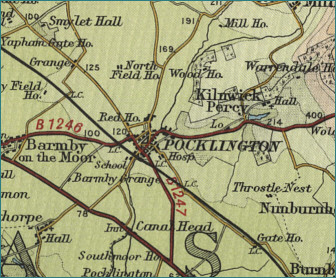 Pocklington Map