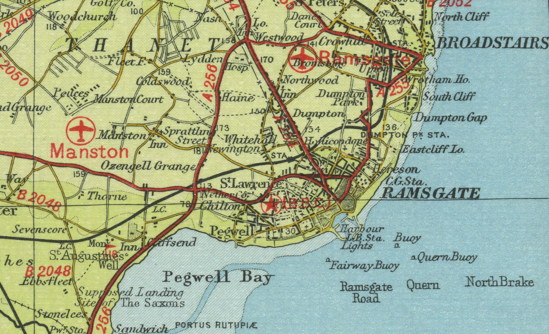 Map Of Uk 2050.Ramsgate Map
