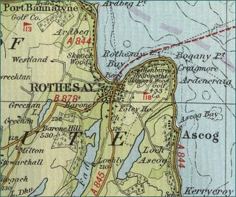 Rothesay Map