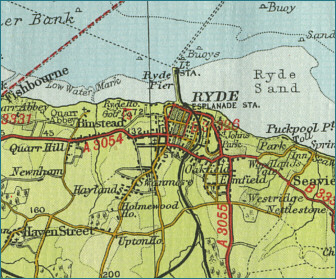 Ryde Map
