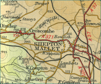 Shepton Mallet Map