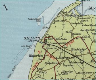 Silloth Map