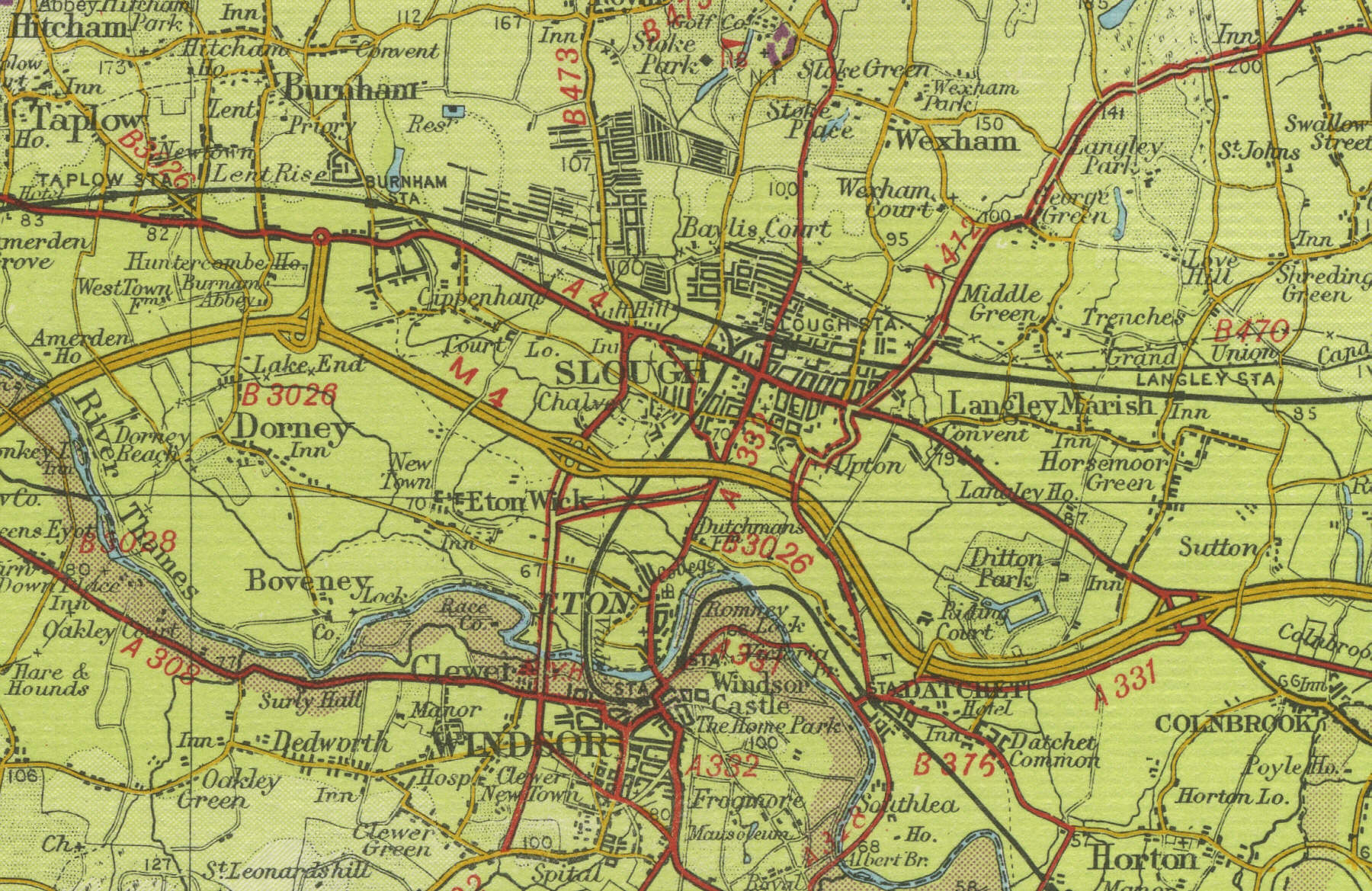 Slough Map