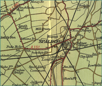 Spalding Map