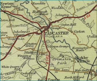Tadcaster Map