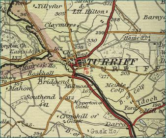 Turriff Map