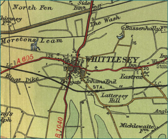 Whittlesey Map